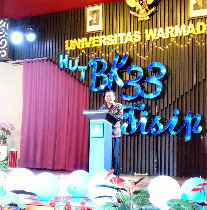 HUT Fisip dan BK Fisip Universitas Warmadewa